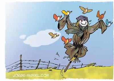 Espantalho (Desenho de Jorge Miguel: http://jorge-miguel.com/)