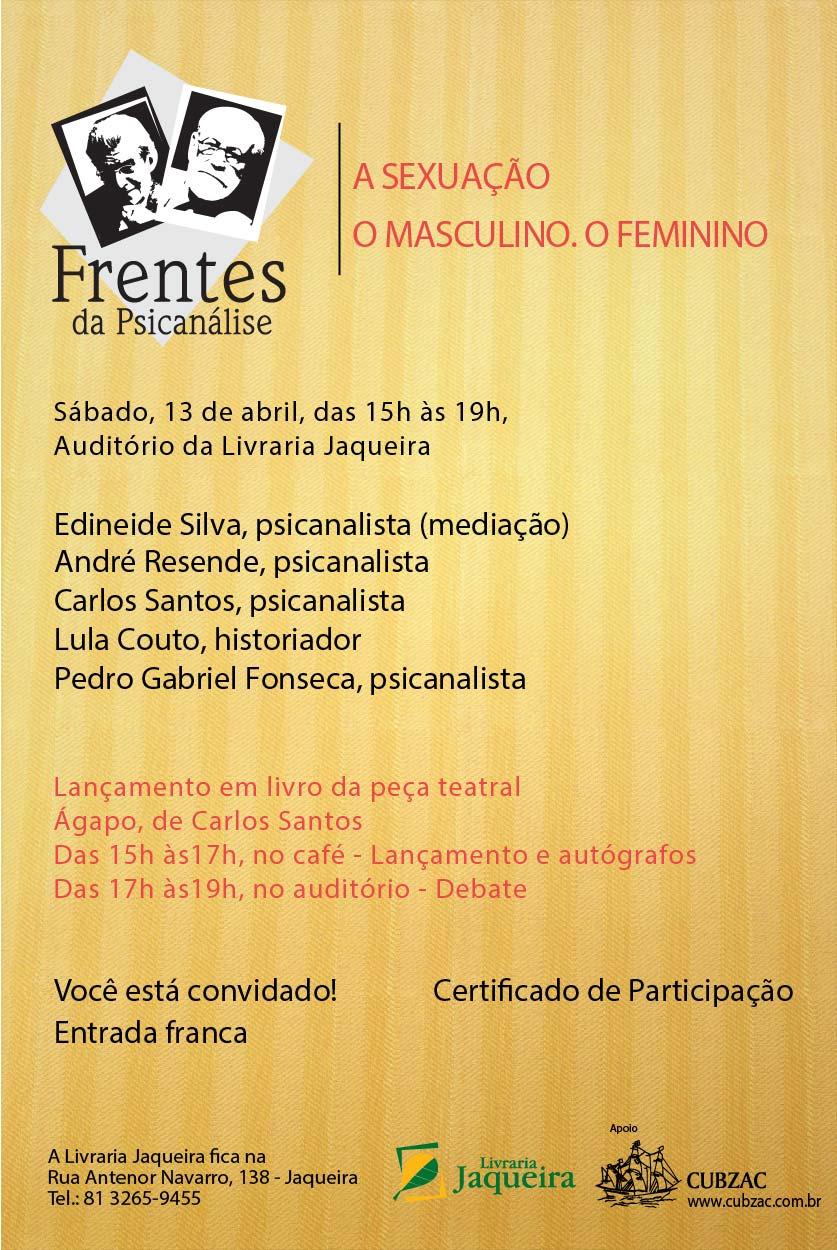 Frentes da Psicanálise abril 2013-01-01