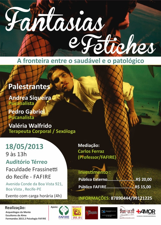 Cartaz - Fantasias e Fetiches