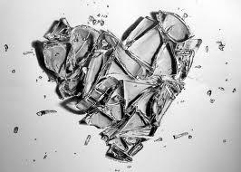 vidro coração